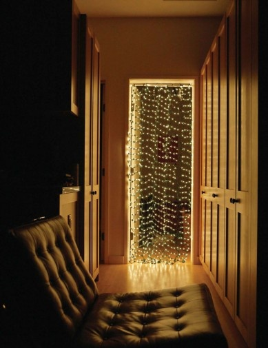 christmas light curtain maybe for all year round - Year Round Christmas Lights