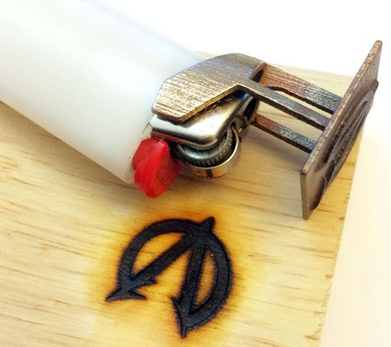 In this blog post Shapeways community member James Herndon teaches you how to make a custom Bic Branding Iron that snaps onto a Bic lighter from a 2D image using Shapeways CustomMaker. You don't need a 3D printer, just an image, an image editing program like Pixlr and Shapeways.com to print...