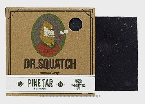 Dr. Squatch Pine Tar Soap – Mens Bar with Natural Woodsy Scent and Skin Scrub Exfoliation – Handmade with Pine, Hemp, Olive Oils in USA  Check It Out Now     $10.00    Tough just like you, this pine tar soap soap has a natural pine tar oil blend. The true pine oil brings the woods to  ..  http://www.handmadeaccessories.top/2017/04/03/dr-squatch-pine-tar-soap-mens-bar-with-natural-woodsy-scent-and-skin-scrub-exfoliation-handmade-with-pine-hemp-olive-oils-in-usa-2/