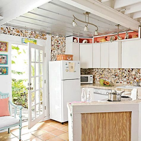17 best ideas about beach style tile murals on pinterest for Nautical kitchen backsplash