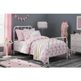 DHP Jenny Lind White Metal Twin Bed - Free Shipping Today - Overstock.com - 19267689