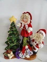Navidad Moldes De Amanda: MUÑECOS DE PAPA NOEL Y MAMA NOEL