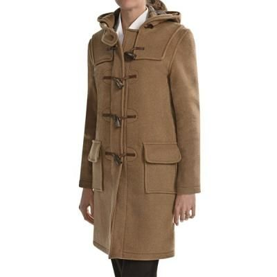 $253, Montgomery By Classic Duffle Coat Wool Camel by John Partridge. Sold by Sierra Trading Post. Click for more info: http://lookastic.com/women/shop_items/54430/redirect
