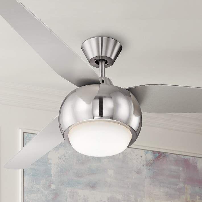 "54"" Casa Reaction Brushed Nickel Ceiling Fan - #4F601 | Lamps Plus"