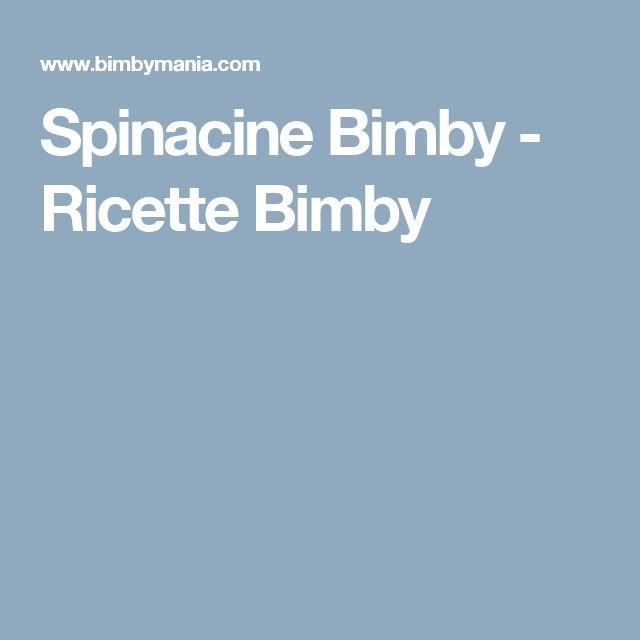 Spinacine Bimby - Ricette Bimby