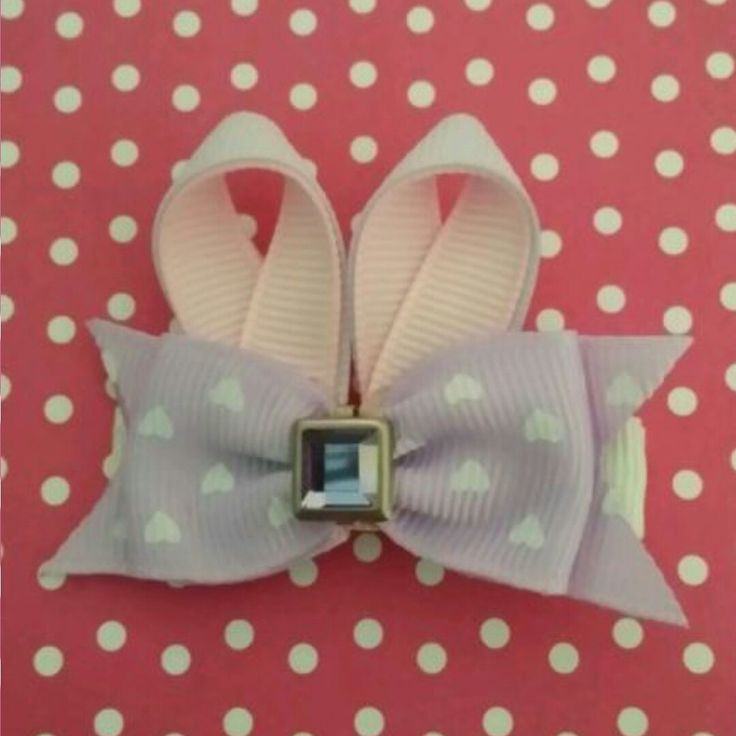 girls cute Easter bunny ears hair clip set / alligator clips by 4yourbeautifulangel on Etsy