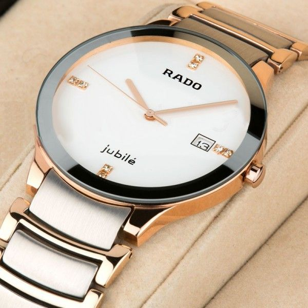 Pin By Swiss Time On Rado Watches White Watches For Men Watches For Men Gold Watch Men
