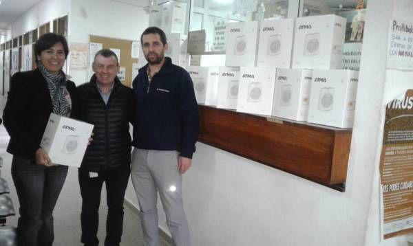 El Grupo Newsan donó estufas eléctricas al Municipio