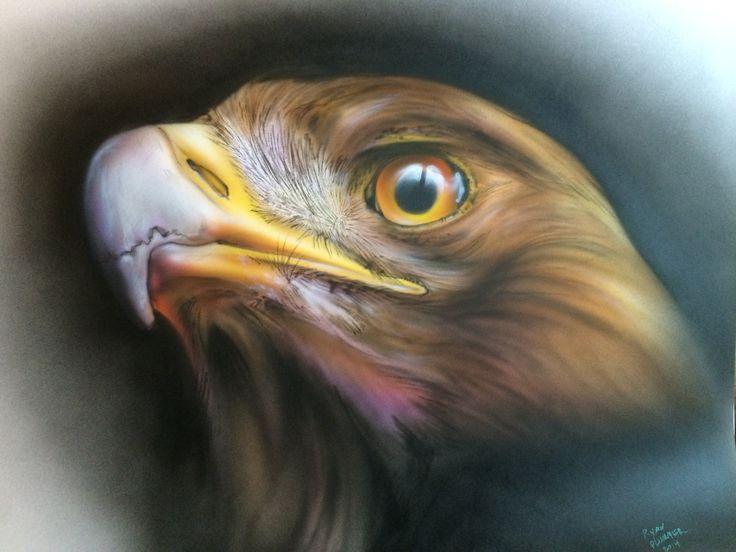 Original Airbrushed Artwork By Ryan Plummer Airbrushed