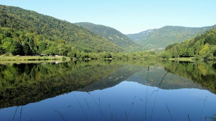 Le lac de Sewen, une ode à la sérénité
