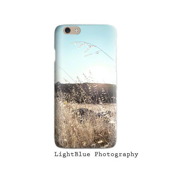 Nature iPhone 7 case Landscaper Photo iPhone 6 case Teal