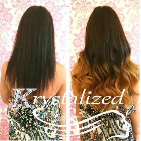 56 best hair extension makeovers images on pinterest hair httpbeautyworksonlineweft hair extensionsdip pmusecretfo Choice Image