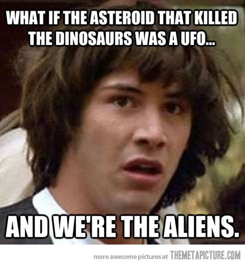 Best conspiracy theory.