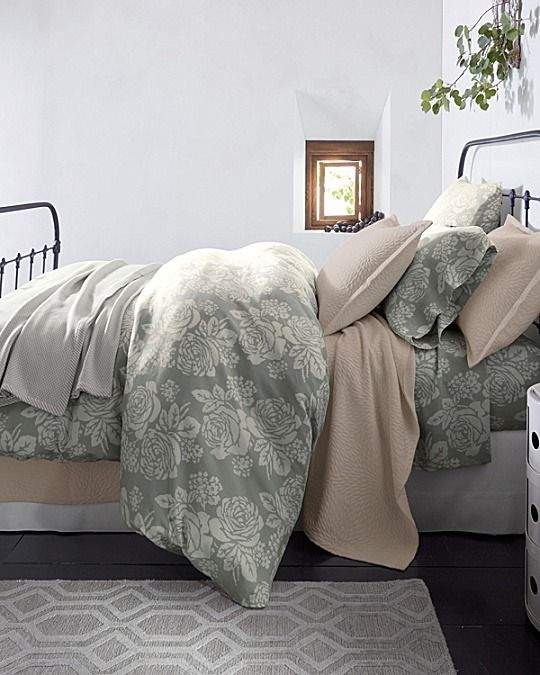 A Romantic Floral In A Soft, Rustic Blend Of Washed Linen And Cotton Set A  Tranquil Scene. With Quiet Colors That Conjure Notes Of Scandinavian Design,  ... Part 40