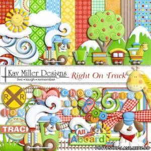 Скрап-наборы для детских презентаций