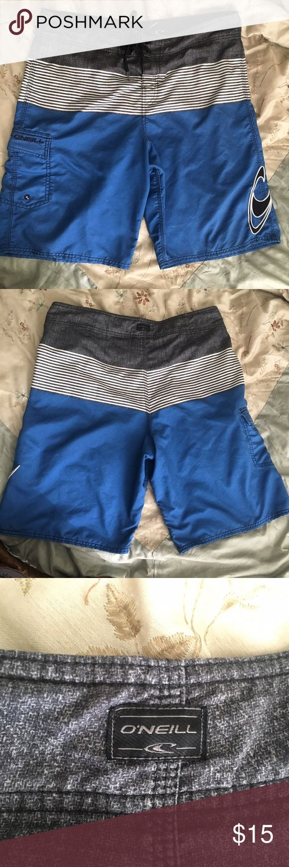 O'Neill Board shorts Previously owned but in excellent condition O'Neill Swim Board Shorts