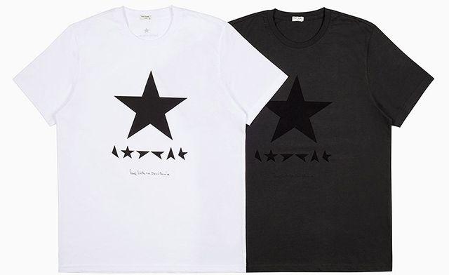 Пол Смит выпустил серию футболок в честь выхода нового альбома Дэвида Боуи