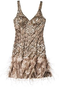 This could be a perfect 20s style second dress or bridesmaid dress
