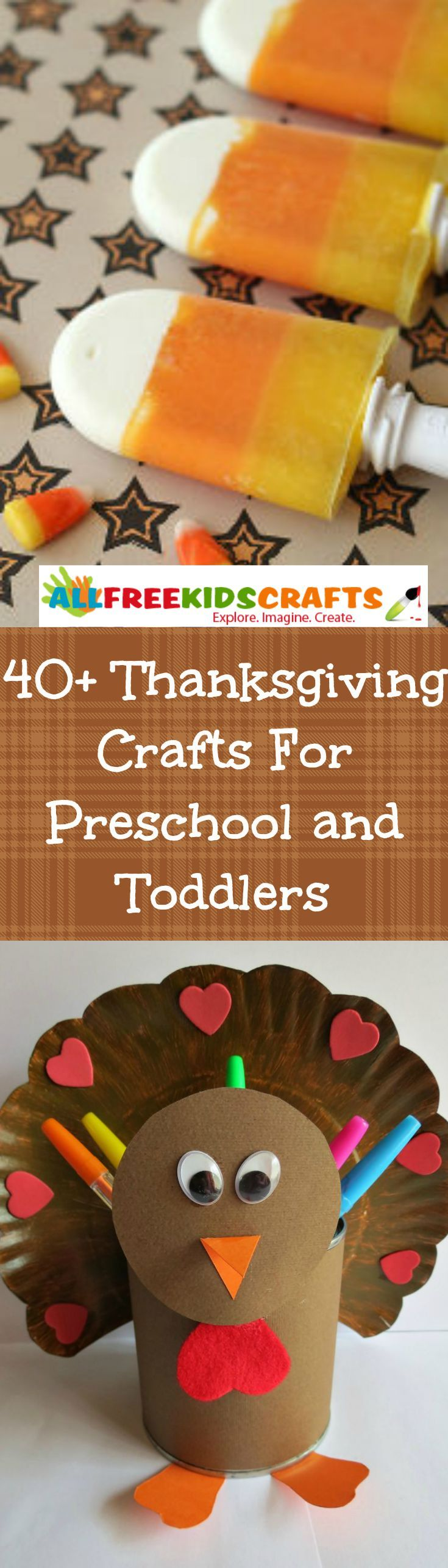 Involving the littlest family members is just as important as spending time with the adults and teens, and that's why this list of 40+ Thanksgiving Crafts for Toddlers & Preschool Thanksgiving Crafts is an essential resource for Turkey Day. These great Thanksgiving crafts for kids are sure to give young ones wonderful Thanksgiving memories.