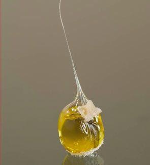 Aceite caramelizado (Madrid Fusión)