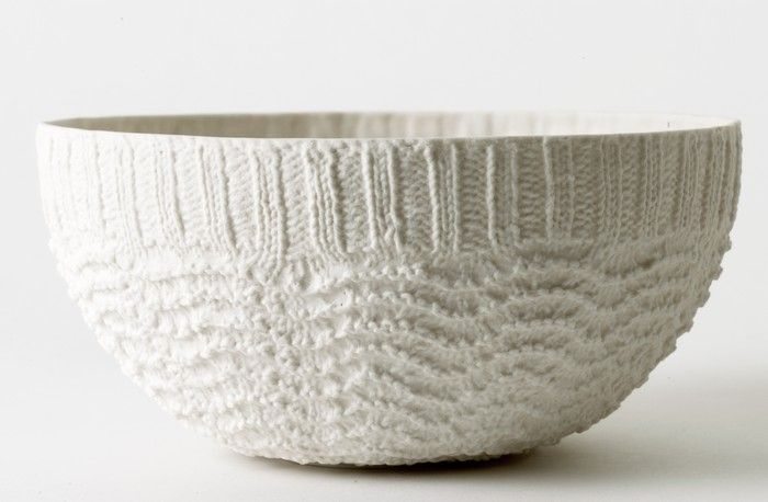 annette bugansky:large bowl (wave)