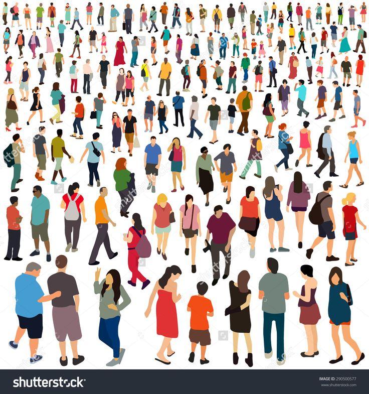 People. Vector illustration.