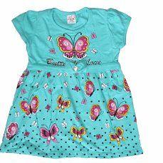 Нарядное,бирюзовое платье с бабочками для девочки, р. 98, 110, 116, 122, цена 610 руб