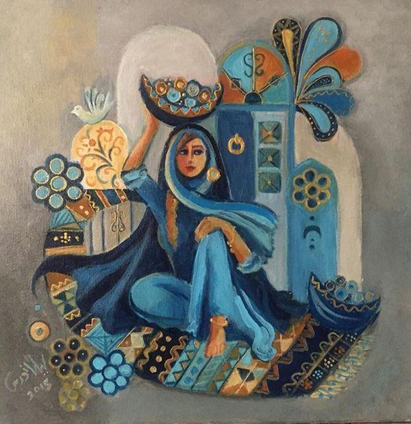 ليلى نورس / العراق Layla Nowras  irqiartist