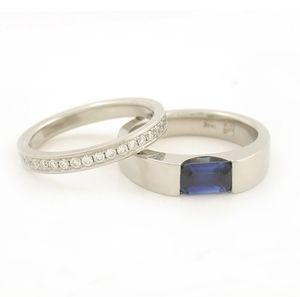 Eternity Band + The Heather Ring
