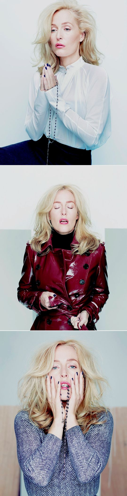 Gillian Anderson by Rankin for Hunger mag 2013.