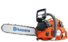 Husqvarna 555 chainsaw is developed for demanding work..