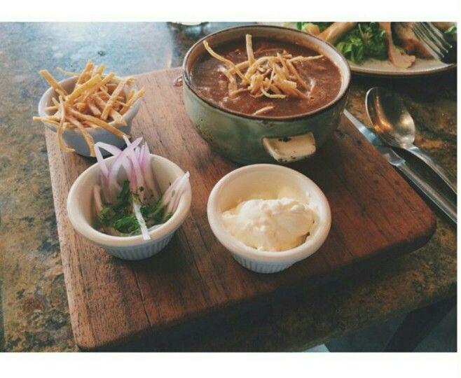 bistronomy. Sopa mexicana