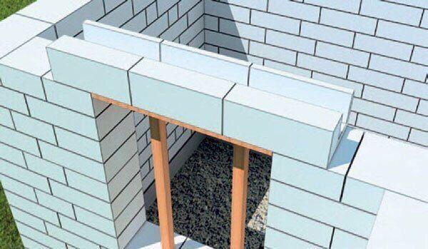 Кладка наружних и внутренних стен из газобетонных блоков.  Общие рекомендации.  Оптимальный температурный режим для проведения работ по укладке газобетонных блоков +5 ºС до +25 ºС. При температуре выше +25 ºС поверхность блоков желательно обильно увлажнять водой. При работе в холодное время года для кладки газобетонных блоков используется клей со специальной противоморозной добавкой, что позволит проводить работы при температуре воздуха до -15 ºС.  Между фундаментом (или цоколем) и…