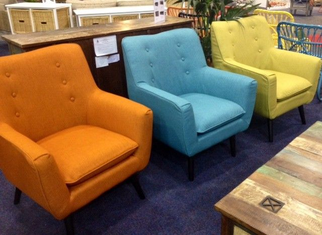 Retro Arm Chairs