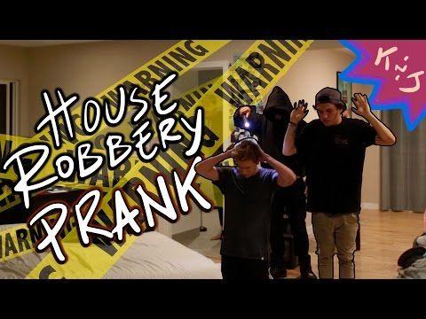 House Robbery Prank - YouTube