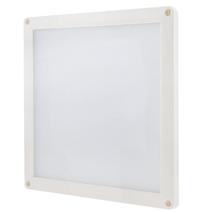 Square LED Panel Light - 12V LED Task Light - 6in x 6in - 412 Lumens | Off-Grid LED Panel Lights | Off-Grid LED Panels & Task Lighting | Off-Grid LED Lighting | Super Bright LEDs
