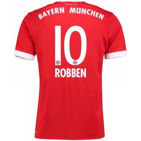 Maillot Bayern ROBBEN 2017/2018 Domicile Officiel. Flocages Personnalisés Disponibles.