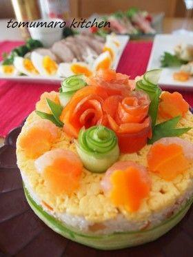 お寿司ケーキ by とむまろ [クックパッド] 簡単おいしいみんなのレシピ ...