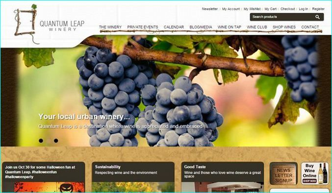 25 Great Examples Of Vineyard And Winery Websites