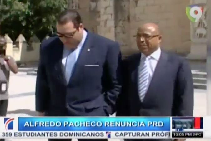 Ex Presidente Camara De Diputados Alfredo Pacheco Renuncia Del PRD #Video