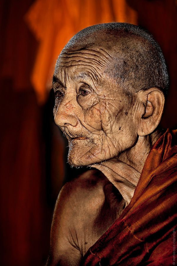 Old monk in Burma | by Carlos Cass, via 500px