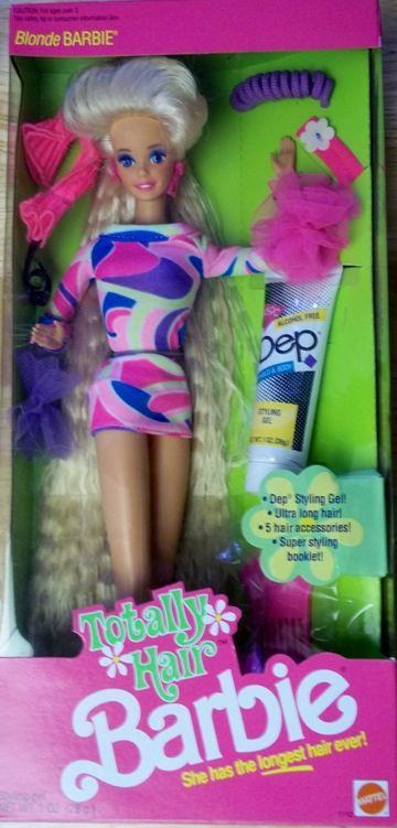 Totally Hair Barbie Blonde