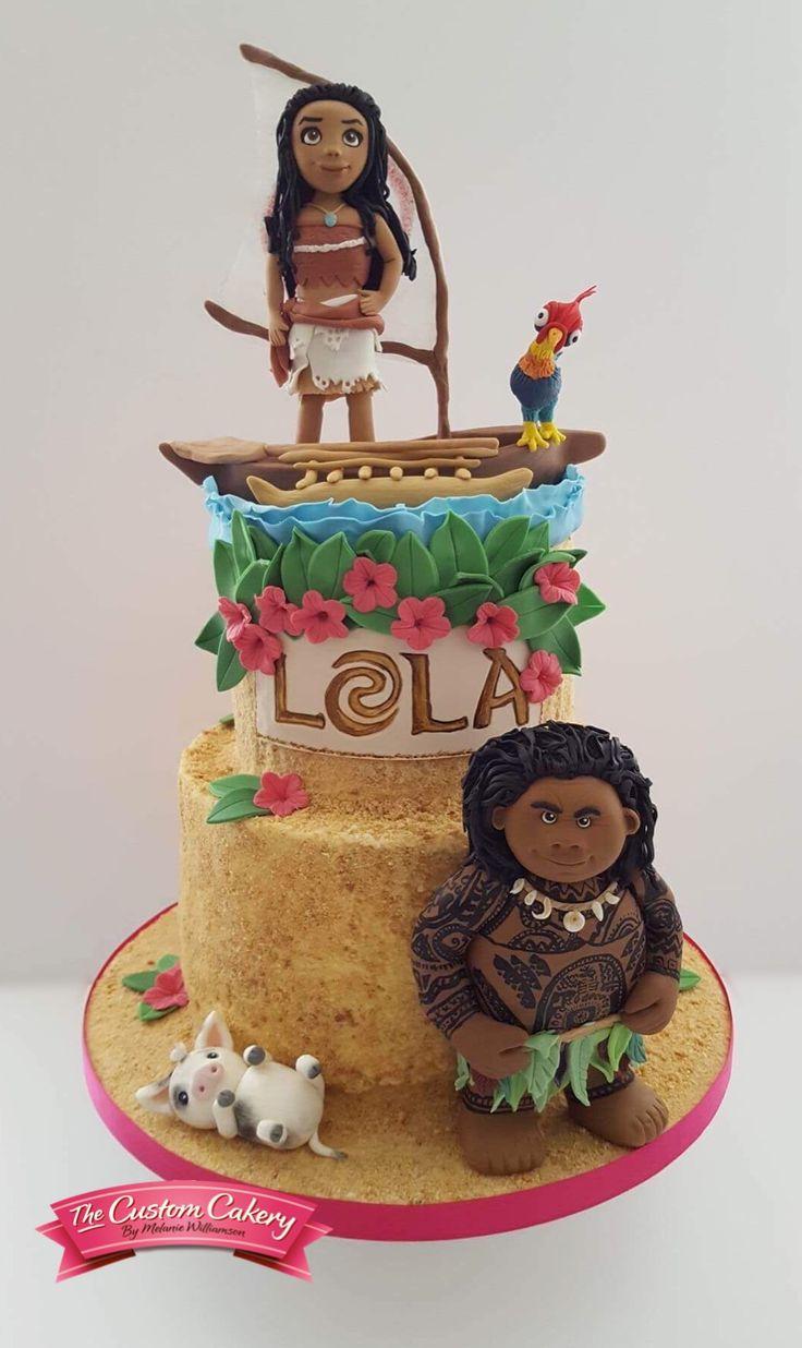 Moana Cake www.facebook.com/doncastercustomcakery
