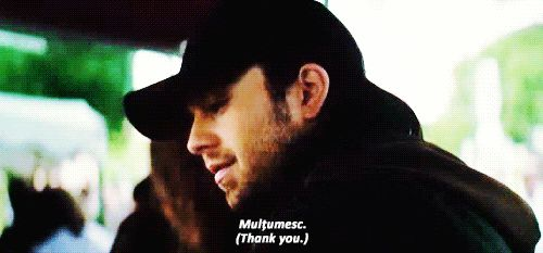 As Bucky, Sebastian is speaking Romanian and that just makes me very happy :)
