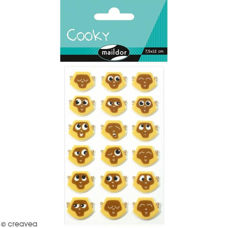 Compra nuestros productos a precios mini Caja creativa - Emoticonos monos - Entrega rápida, gratuita a partir de 89 € !