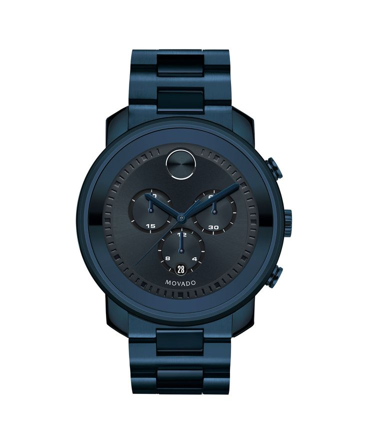 Movado | Movado Bold 44MM Navy-Ion Plated Watch | Movado US