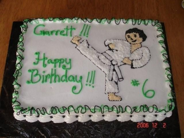 Karate Cake Design : 25+ Best Ideas about Karate Cake on Pinterest Karate ...