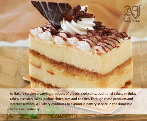 AJ BAKERY & CAKE ONLINE SHOP - AJ Products TIRAMISU SLICES