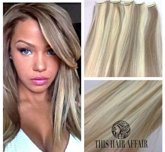 45 best hair images on pinterest hair beauty hair ideas and 20 inch dirty blonde ash blonde highlight clip in hair extensions pmusecretfo Image collections