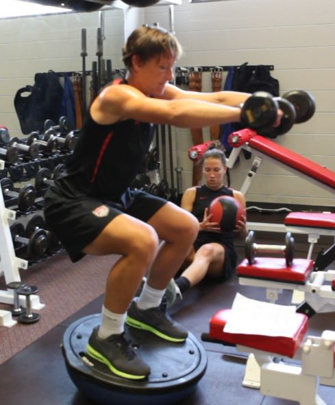 In season soccer strength and conditioning program